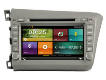 touch screen car dvd player for honda civic 2012 car dvd with gps radio audio multimedia