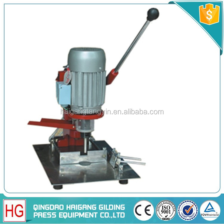 Semi-automatic Bench Vertical Hole Small Paper Drilling Machine