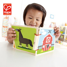Hape brand New design baby wooden educational polished water drawing book