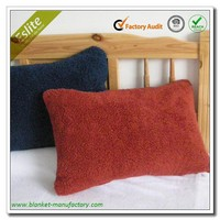 Polyester Plain Fleece Sherpa Cheap Cushion