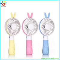 New design portable usb cooling hand fan with rechargeable battery