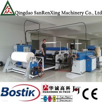 PE non woven paper laminate sheet machine