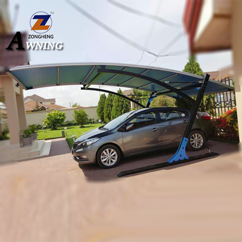 High quality professional outdoor one car sun shade carport