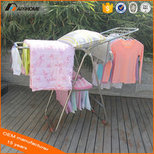 Outdoor cloth drying rack,Stainless steel clothes dryer stand,Adjust clothes pole hanger