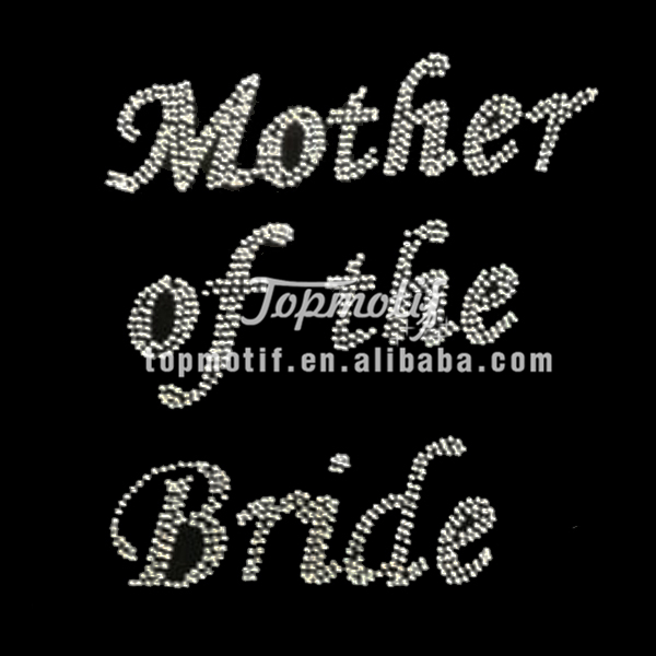 Wholesale bride rhinestone appliques korean hotfix rhinestones