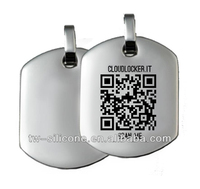 Dog ID Tags For People Custom Dog Tags QR Code Engraved