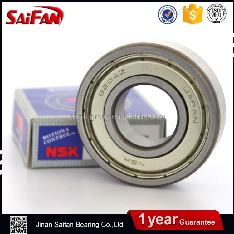 Japan Quality Saifan NSK Ceiling Fan Bearing 6000zz 6200zz 6300zz Miniature Ball Bearing Catalogue Price For Ceiling Fan