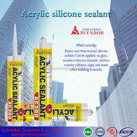 acetic silicone sealant for used mitsubishi fuso bus/ acrylic silicone sealant supplier/ acid silicone sealant