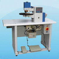 edge folding machine with auto cement for leather shoes insole