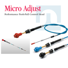 Throttle control cable with stainless steel fittings