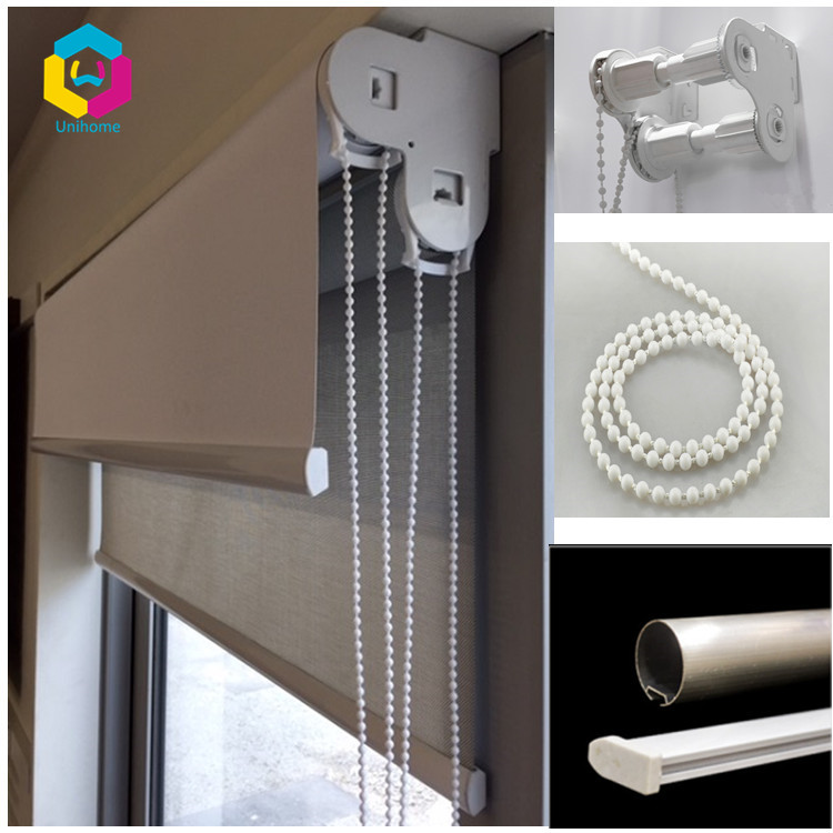 yuma polyester fabric double bracket clutch roller blinds