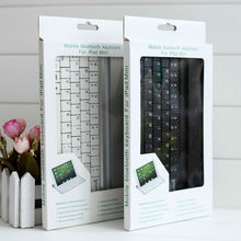 Aluminum Bluetooth Wireless KeyPad Keyboard for Apple iPad Mini