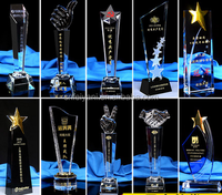 New Arrival Personalized Achievement Crystal Trophy