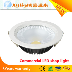 European standard china online shopping epistar chip led 20w led rgb recessed ceiling downlight