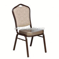 hight quality outdoor metal spring chair furniture modern banquet hotel chairs gold metal frame recliner chair with ottoman
