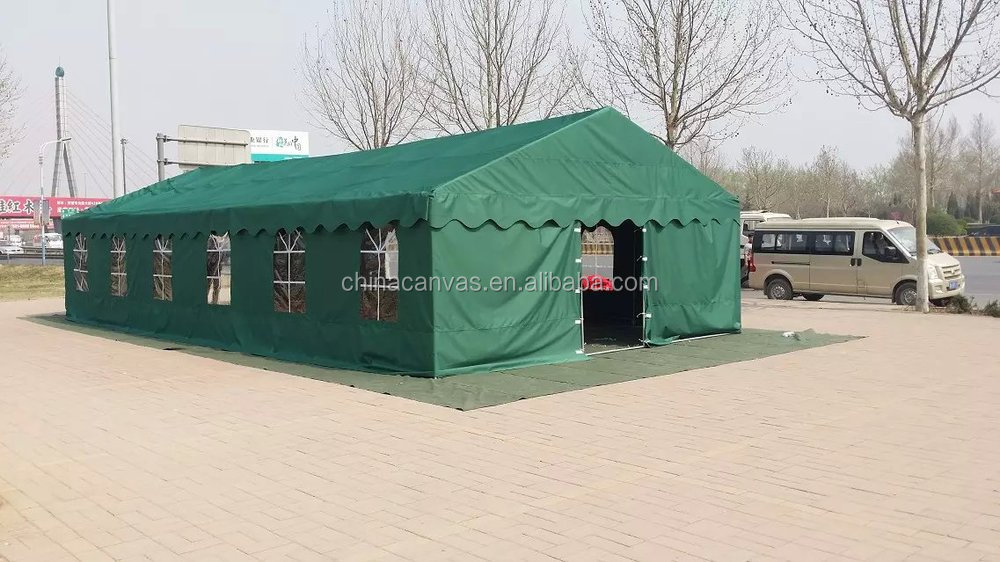 High quality red color outdoor wedding party tent with steel pipe frame
