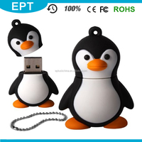 cartoon design penguin shape1GB/2GB/4GB/16GB cheap usb flash drive