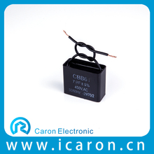 22uf Low Price Hot Sale Capacitor Cbb61 Electric Fan Capicitor