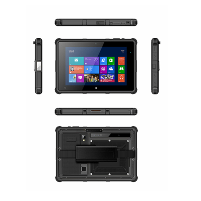 Black color android 8 rugged tablet inch win <strong>10</strong>