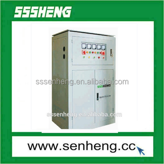 Servo Motor Type SBW Usage AC Automatic Voltage Stabilizer