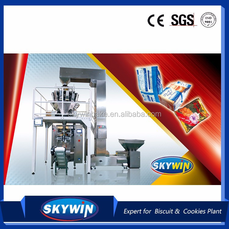 Advanced Auto Weighing biscuit Vertical Packing Machinery