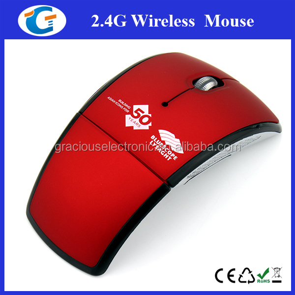 Personalized wireless foldable mouse portable design