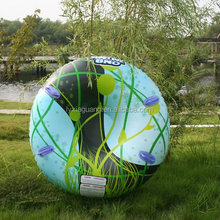 Hot sale adult size best price inflatable double snow tube