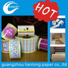 adhesive label printing windows sticker with glue