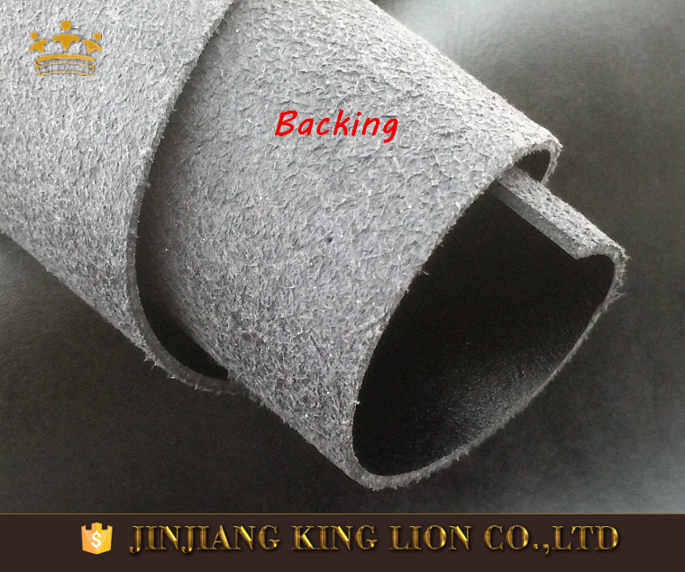 Synthetic pu microfiber leather shoe material manufacturer