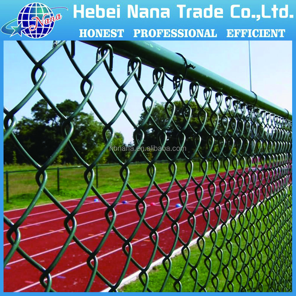Multifunctional plastic cover chain link fence