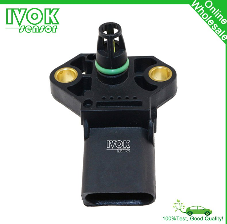 2.5 Bar MAP Sensor, Turbo Boost Pressure 038906051B For Skoda Fabia Roomster Superb Yeti Octavia Praktik 1.4 1.8 1.9 TDI