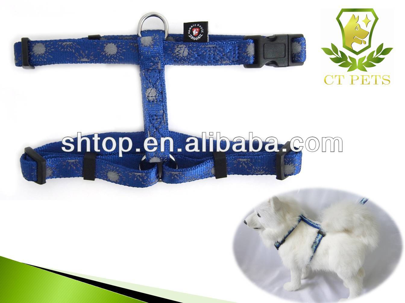 Factory OEM adjustable dog harness with pocket