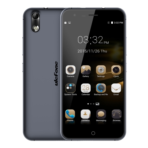 low price Ulefone Paris X5 inch IPS 2.5D Screen Android 5.1 Smartphone