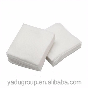 Absorbent Gauze Swabs with/without X-ray Detectable Thread