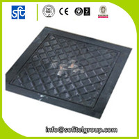 Cheap China Factory light Duty Ductile Iron grey iron A15 Manhole Cover With Frame