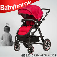 EN1888 CE approved warm air wheel baby pram 3 in 1 baby strollers carriage crib