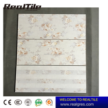 Waterproof Marble Flower Pattern 300x600 Candy Design Matt Finish Tile Ceramic Wall Tile