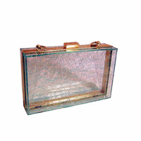Latest Trendy Shenzhen Factory Offer Acrylic Evening Box Clutch Bags