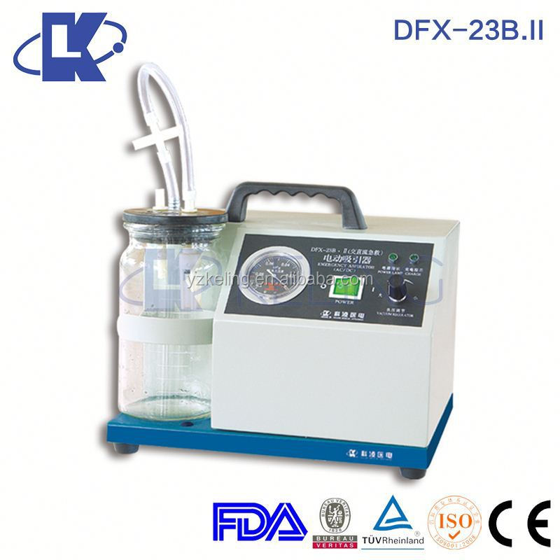 DFX-23B.II Ac/Dc Vacuum Pump battery vacuum pump electronic suction apparatus
