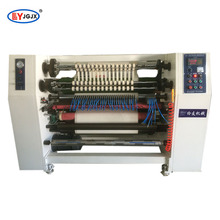 Medical adhesive tape slitter rewinder machine/gum tape slitter/fabric tape slitting machine
