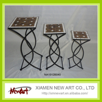 Home and outdoor decorative flower pot stands flower decorative stands