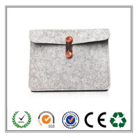 2015 Hot Sell Concise Design Office Felt Laptop Sleeve From Alibaba Gold Supplier