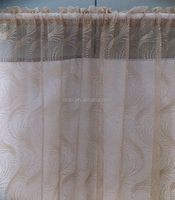 2013 shaoxing cheap lace warp knitting curtain fabric