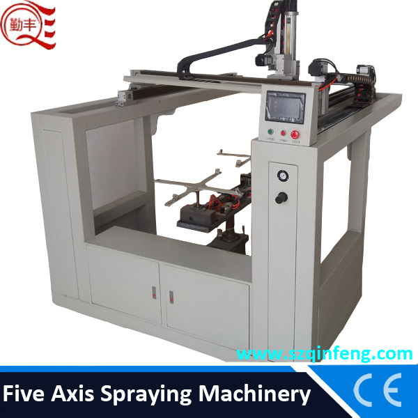 automatic on-line painting machine/ on-line Automatic spraying machine for motorcycle helmet /helmet painting machine