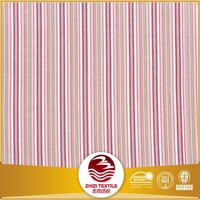 Yarn dyed jacquard stripe design curtain fabric made by 100% polyester fabric