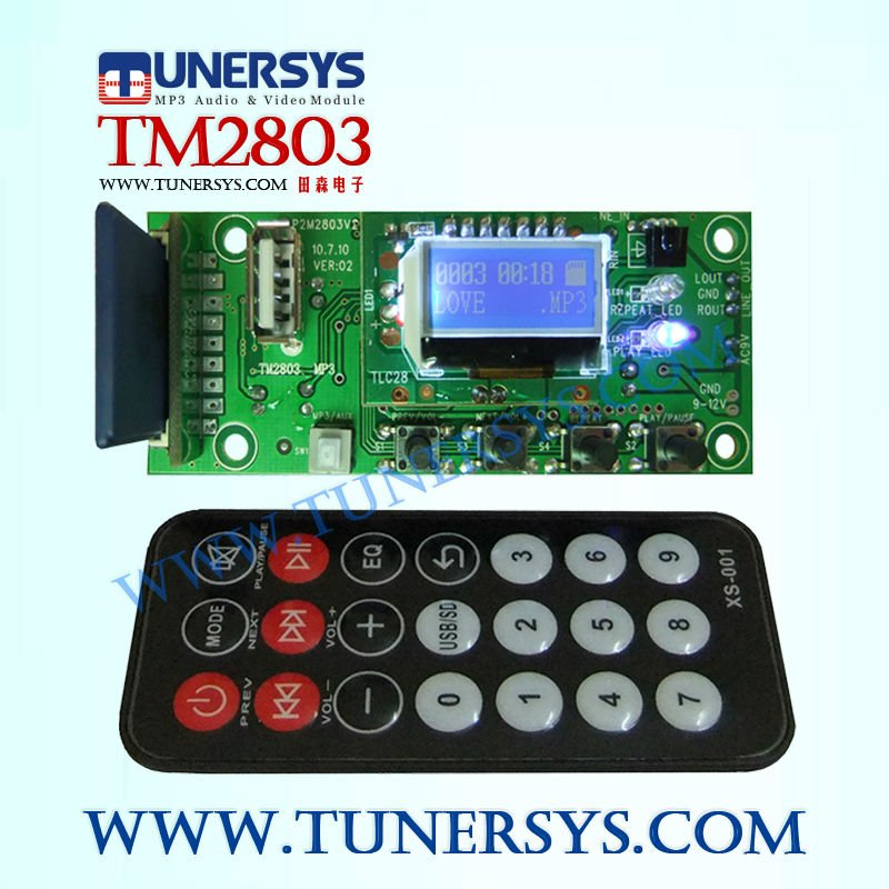 radio frequency remote control usb TM2803