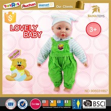 16 inch reborn soft silicone toys lovely baby doll