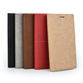 Colorful premium pu leather flip case for iphone with tpu shell