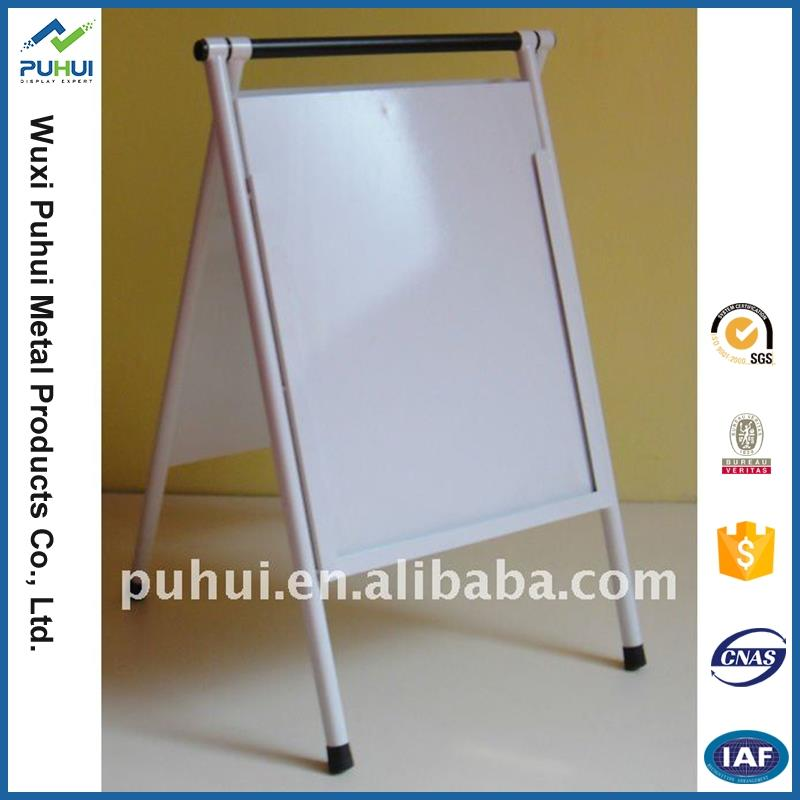 china supplier floor standing sign holder rack iron