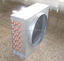corrugated tube heat exchangers/copper condenser/Manufacture